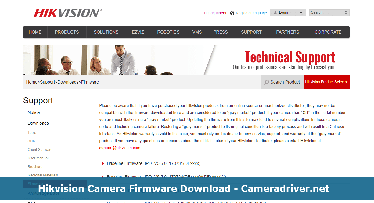 Hikvision Camera Firmware