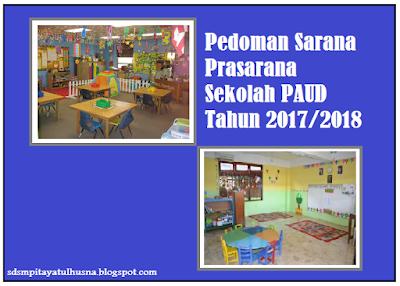 Panduan Buku Pedoman Sarana Prasarana Sekolah PAUD Tahun 2017/2018