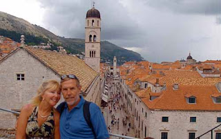 Pat Wayne dunlap Placa Dubrovnik Croatia