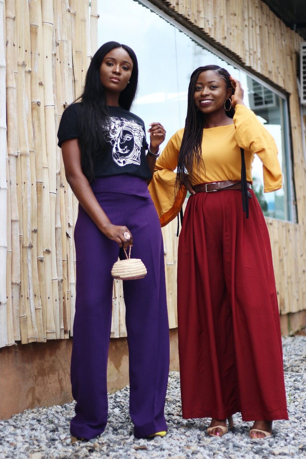 abuja fashion bloggers colour blocking