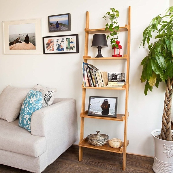 DIY Trending Decor - Amazing Decorating With Ladders 6