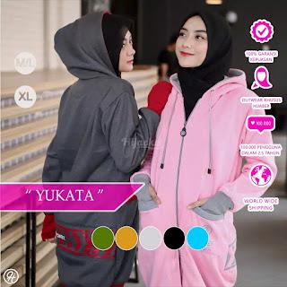 Hijacket Yukata Lengkap Bahan Premium Fleece Original