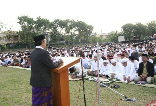 Contoh Teks Khutbah Idul Adha Singkat Padat Terbaru 2016