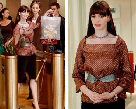 Andy (Anne Hathaway) o diabo veste
