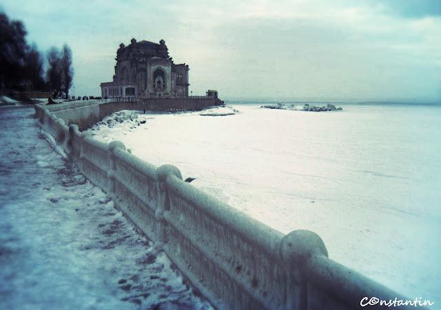 Marea înghețată la Constanța - blog FOTO-IDEEA