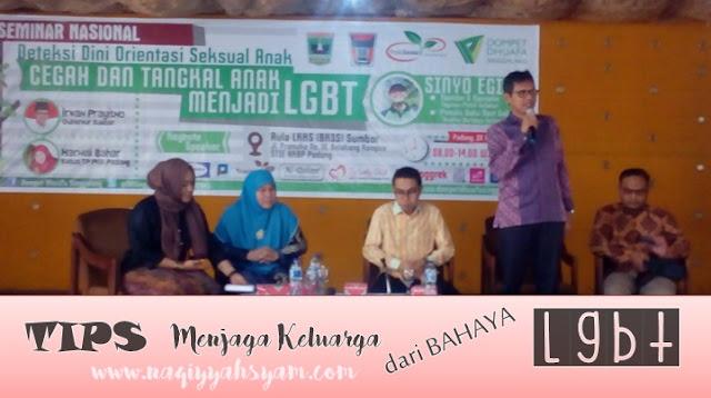 Seminar Cegah dan Tangkal Anak Menjadi LGBT