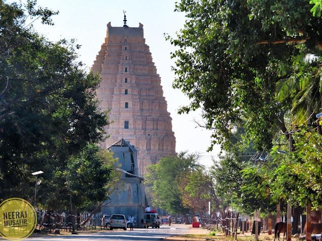 Virupaksha Temple Gopuram Hampi