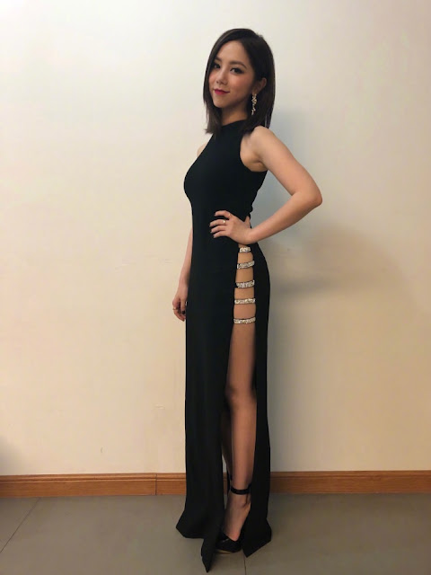 G.E.M. dress China's Singer