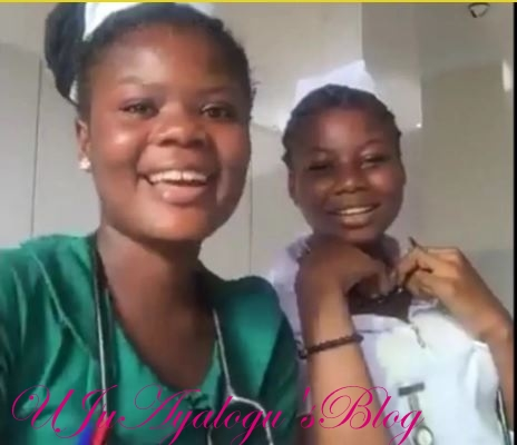"""Two Ghanaian nurses sacked for """"ignoring patients"""" and going on Facebook live while at work (PHOTO)"""