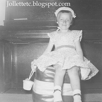 Wendy Slade Mathias Easter 1955  http://jollettetc.blogspot.com