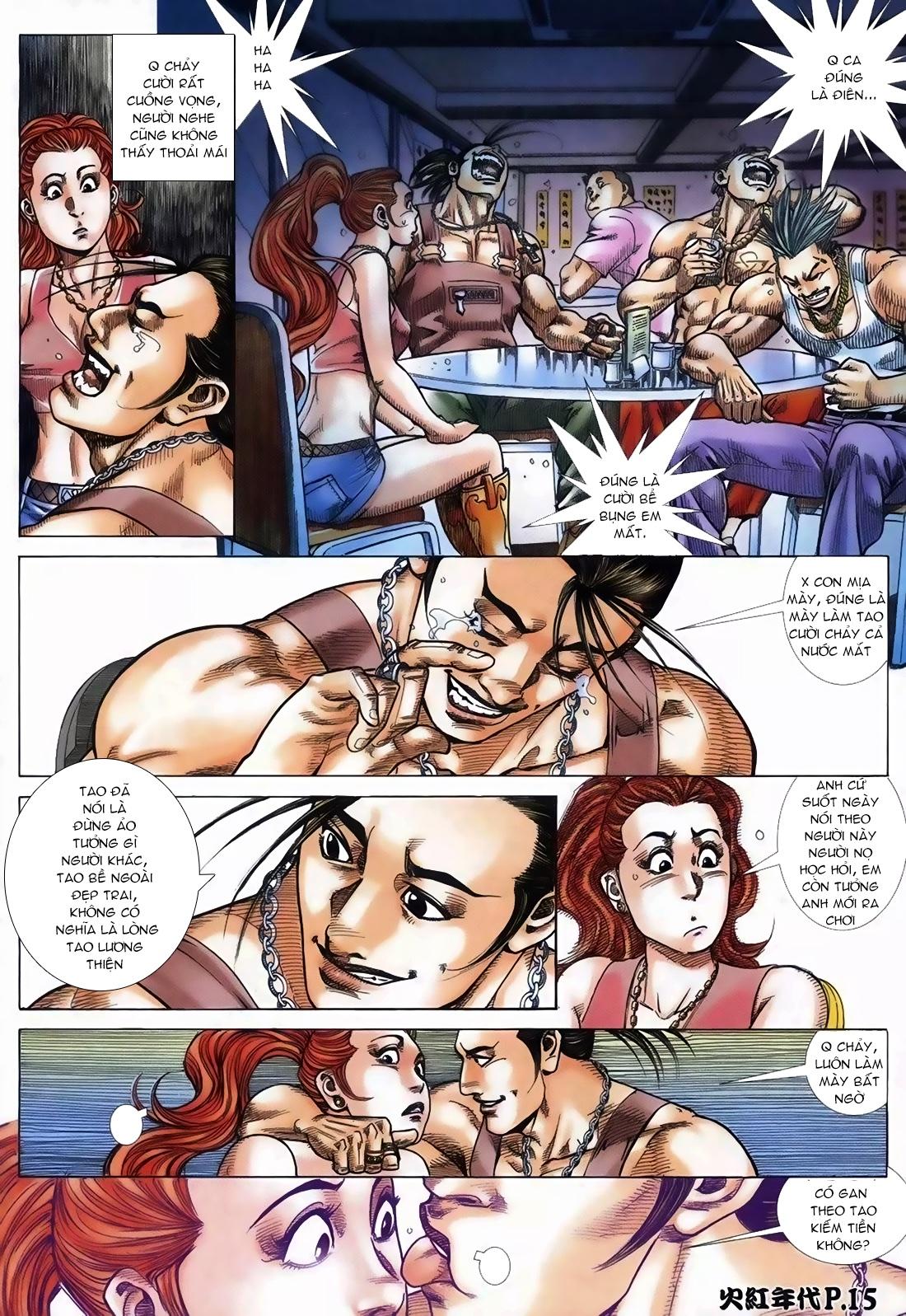 Hỏa Hồng Niên Đại Hắc Cốt Đường Chap 111 - Trang 11