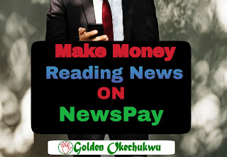 Man Reading News on NewsPay