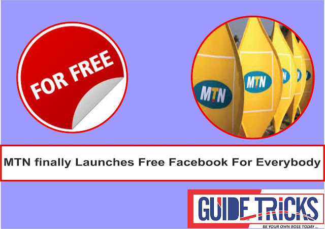 MTN finally Launches Free Facebook For Everybody