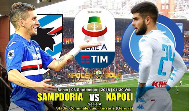 Prediksi Sampdoria Vs Napoli 3 September 2018