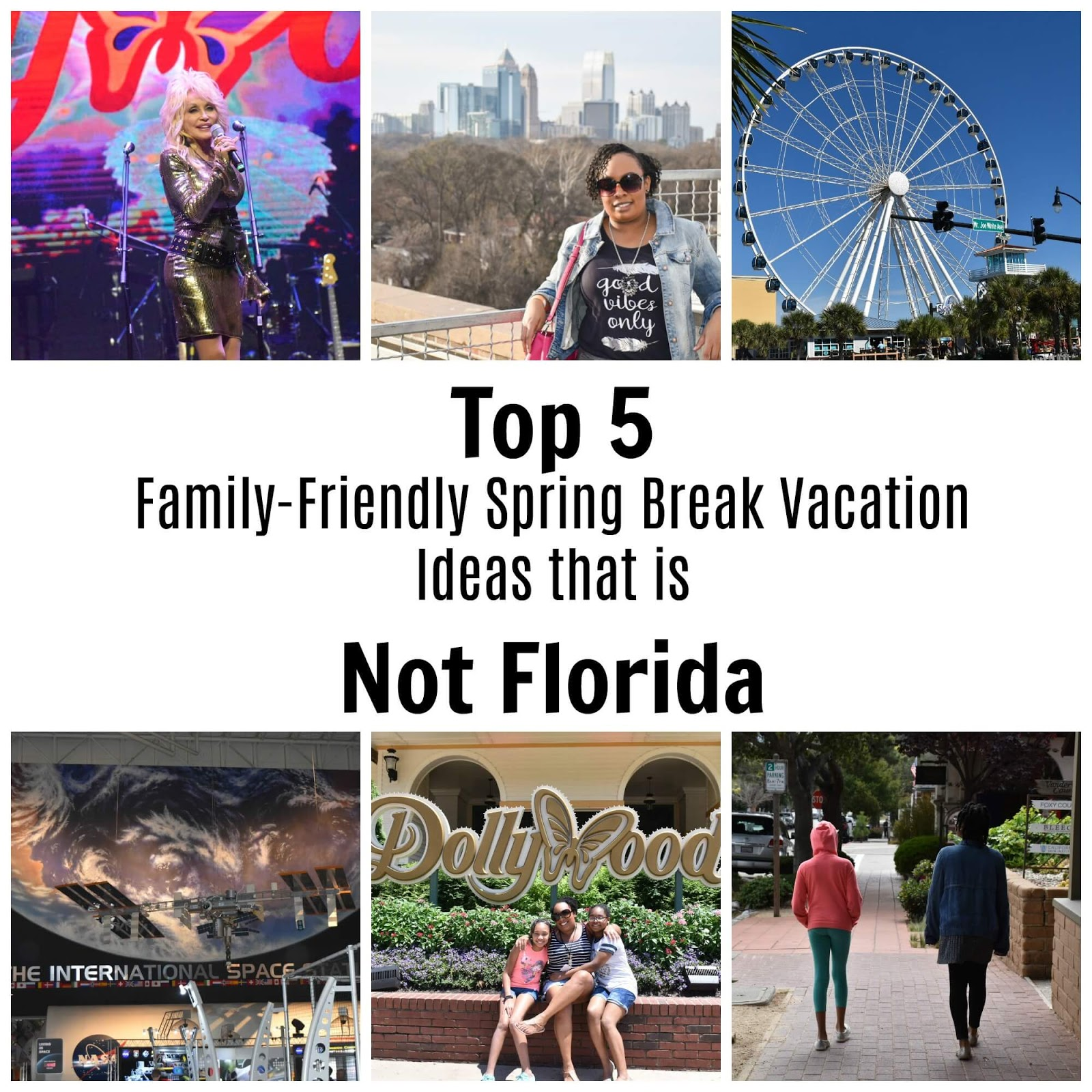Top 5 Family-Friendly Spring Break Vacation Ideas that is Not Florida  via  www.productreviewmom.com