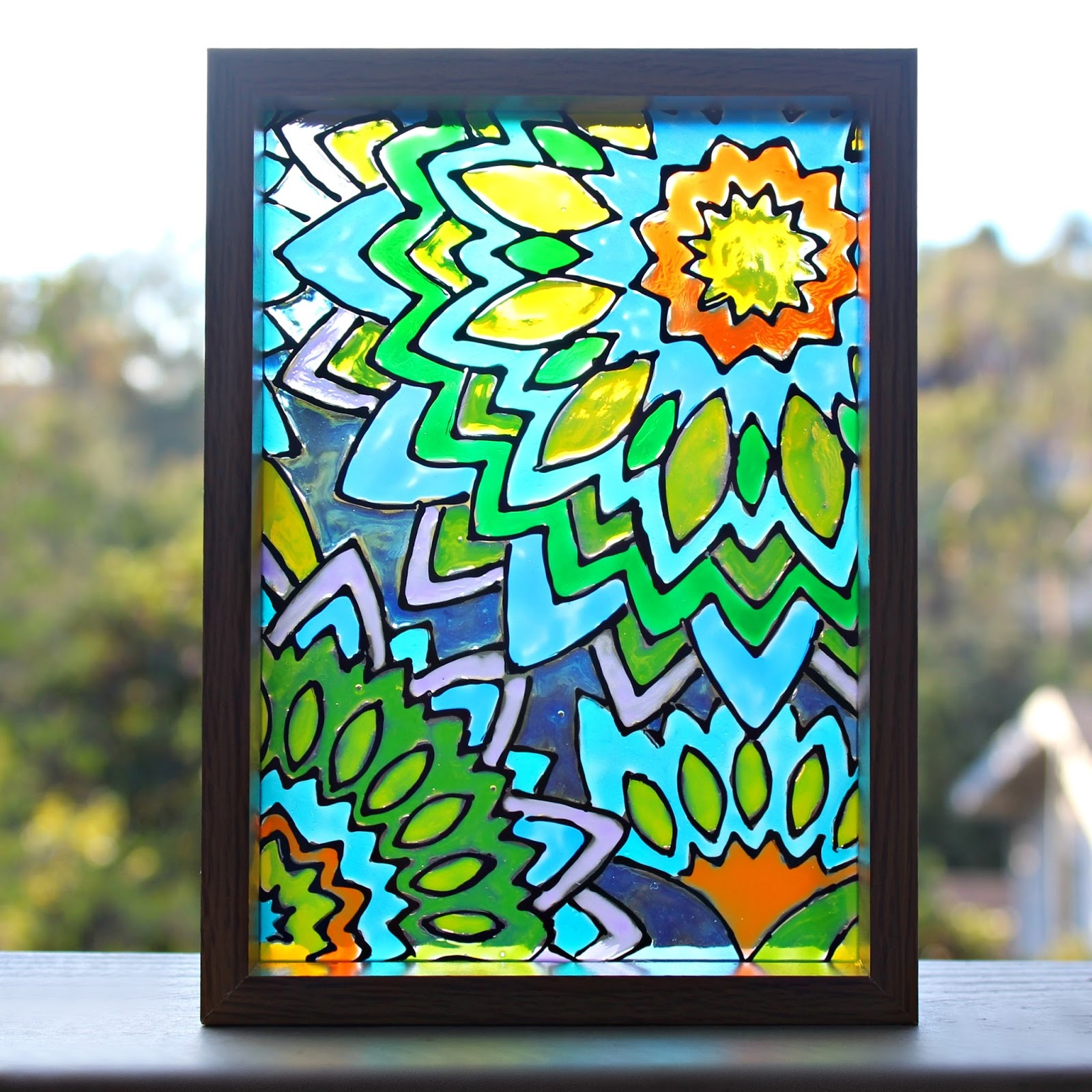 Mark Montano: Faux Stained Glass Mandalas