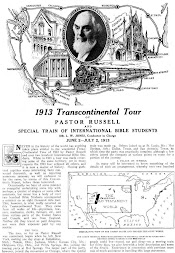 Pastor Russell and the Convention Train