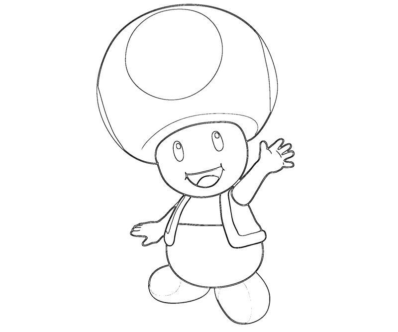 toad coloring pages - photo #36