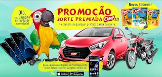 """Promoção: """"Sorte premiada Camp 3D"""""""