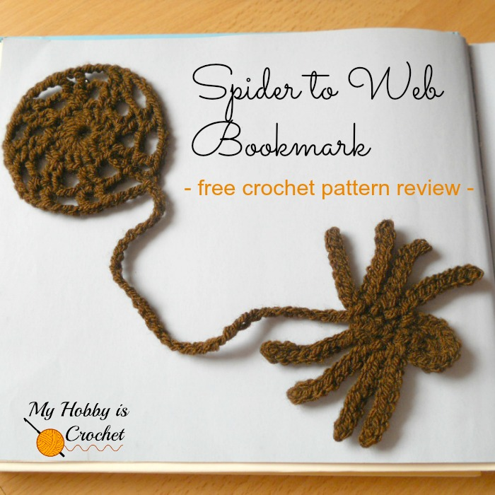 Bookmarks for Kids - 5 Free Crochet Patterns reviewed on My Hobby is Crochet Blog