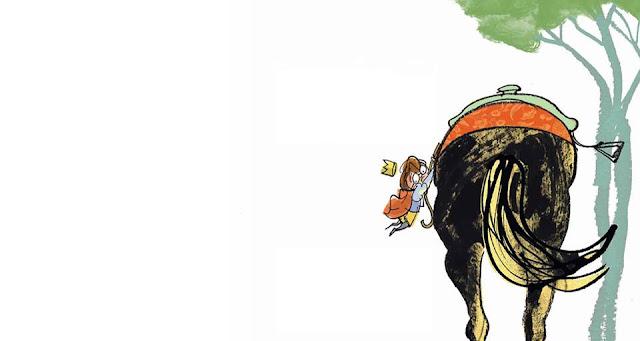 principino scende cavallo