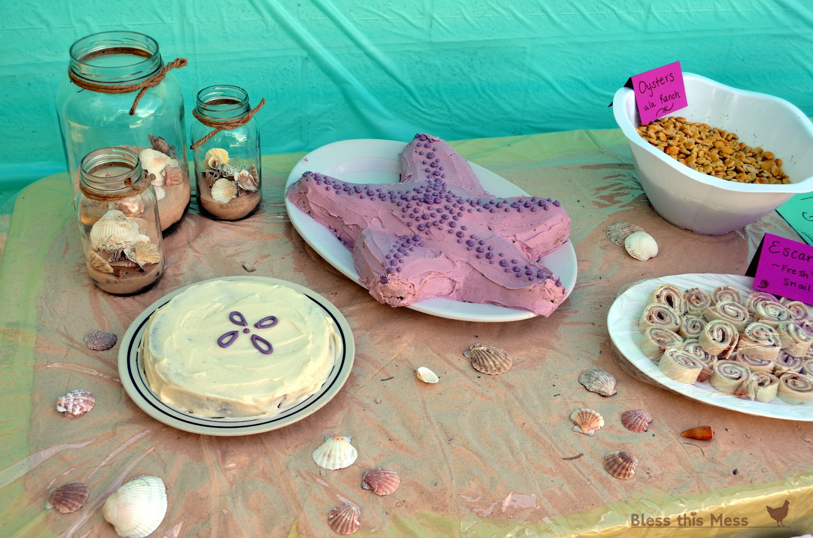 Beach Birthday Party Bless This Mess