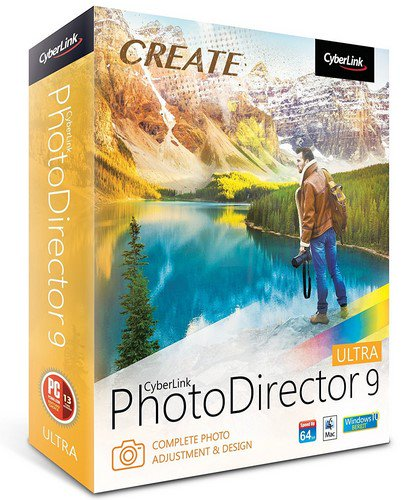 Descargar Cyberlink PhotoDirector Ultra 9 para win 64 y 32 bits español 1 link mega.