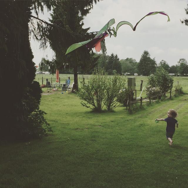 Urlaub mit zwei Kleinkindern - Drachen