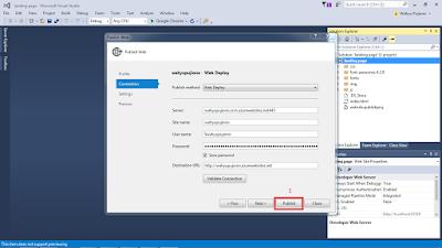 vs7 - Cara Upload Website ke Microsoft Azure melalui Visual Studio 2015
