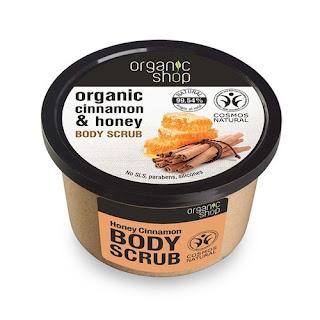 Organic Shop Peeling do ciała cynamon i miód