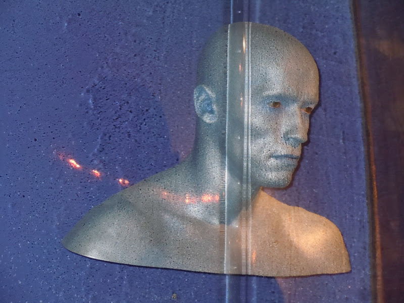 Arnold Schwarzenegger Mr Freeze head prop