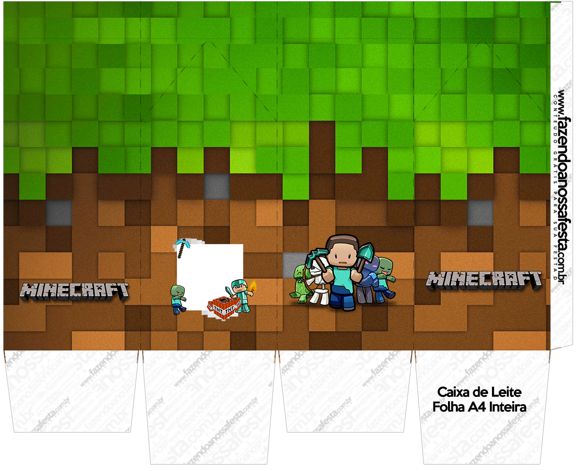 minecraft free printable boxes. - oh my fiesta! for geeks