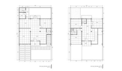 Gambar Rencana Keramik Lantai 1 dan 2