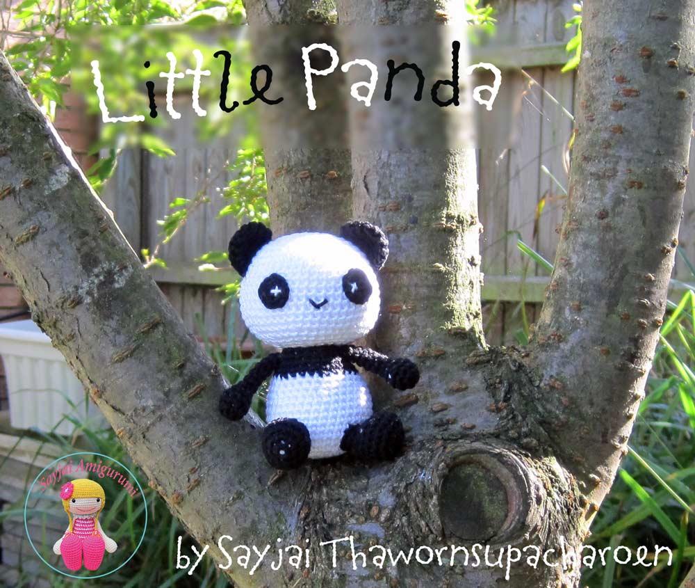 Little Panda Sayjai Amigurumi Crochet Patterns K And J