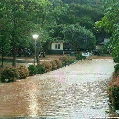 Banjir Undip Tembalang kampusundipcom