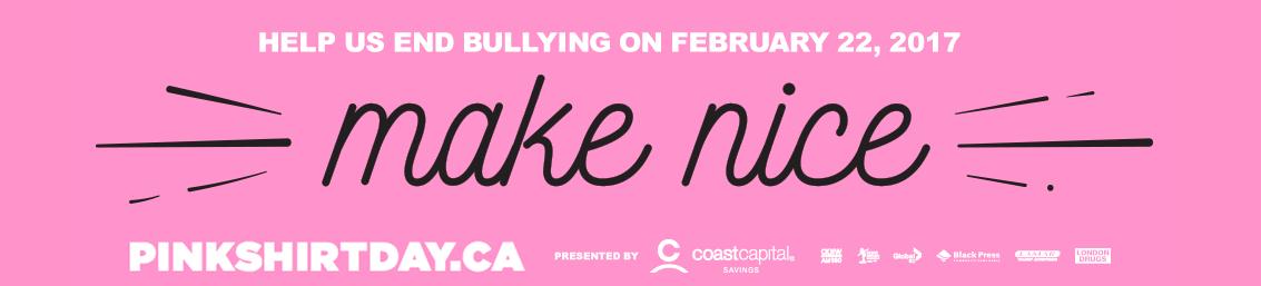 Lisa McManus Lange: Pink Shirt Day February 22 2017