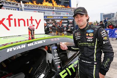 Ryan Blaney Wins At Texas! #NASCAR #NXS