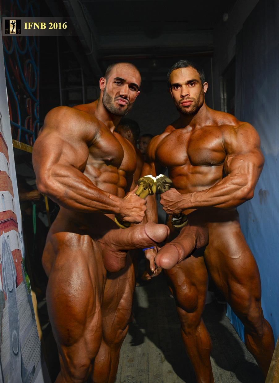 Bodybuilders Massive Cock 94