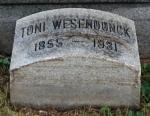 Grabstein Toni Wesendonck - Green-Wood Cemetery