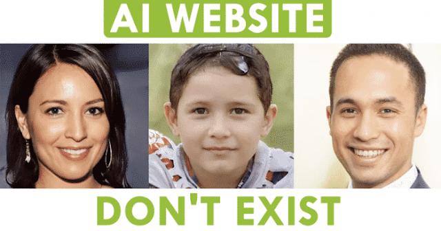 AI para criar fotos de seres humanos