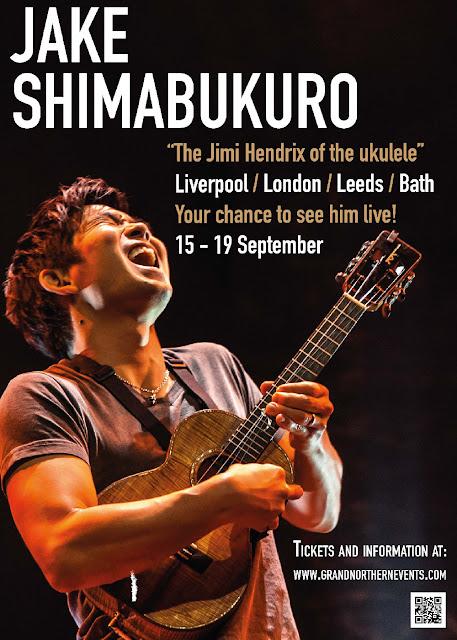 Jake Shimabukuro To Tour The UK