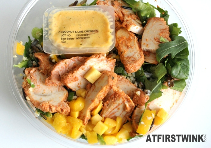 AH Chicken mango salad with coconut lime dressing | Salade kip mango met kokos-limoendressing (lid opened)