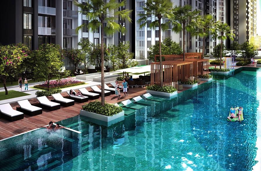 Bể bơi ngoài trời Marriott Đà Nẵng
