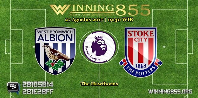 Prediksi Skor West Bromwich vs Stoke City 27 Agustus 2017
