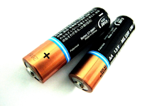 battery hack make AAA battery type to AA battery type
