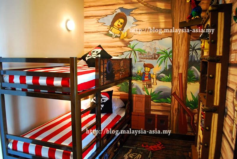 Pirate Kids Room Legoland Hotel Malaysia