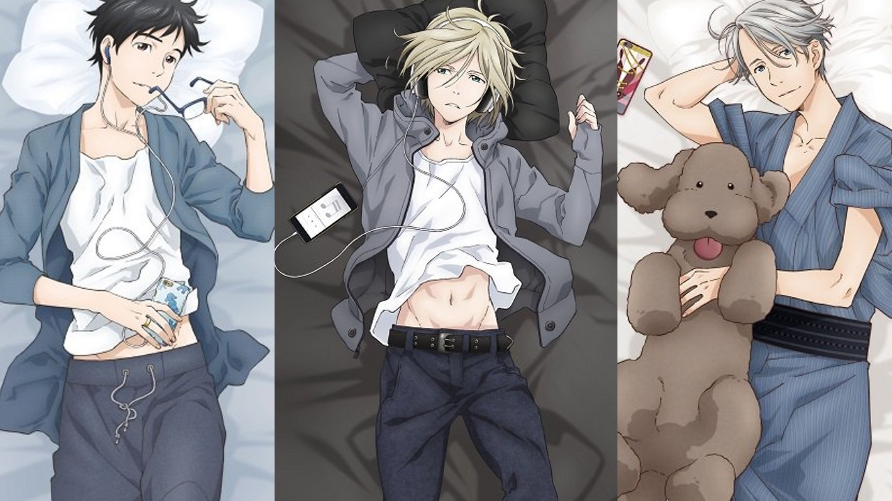 Yuri On Ice Ilrations Of Futon Covers Are Released