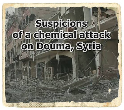 Suspicions of a chemical attack by chlorine on Douma