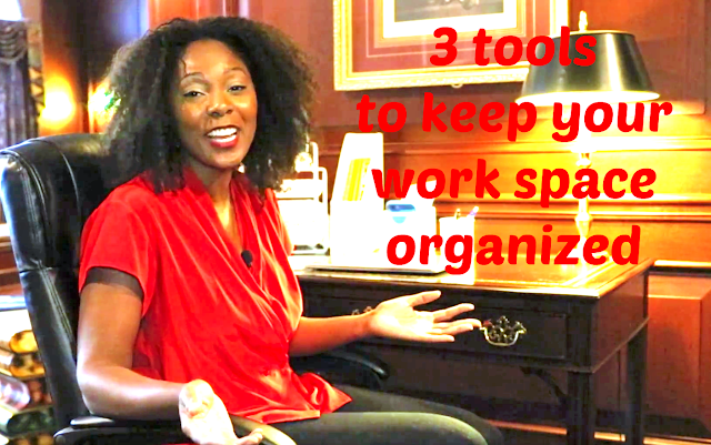 3 tools to keep your work space organized | AD