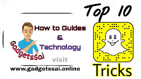 Top 10 Snapchat Tricks,  Cool and Best ideas about Snapchat